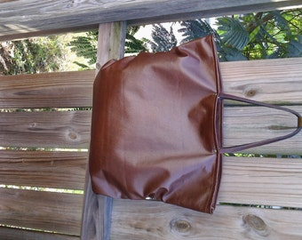 RESERVED CUSTOM LISTING For Natalie / Brown Leather Hobo/ Tote Bag