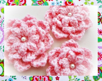 Graceful Flower Crochet  Pattern
