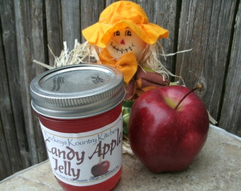 Jelly Candy Apple, Handcrafted, Deliciously Sweet homemade jam and jelly