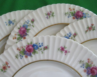 1930s Lenox Pavlova Dinner Plates Near Mint Set of four