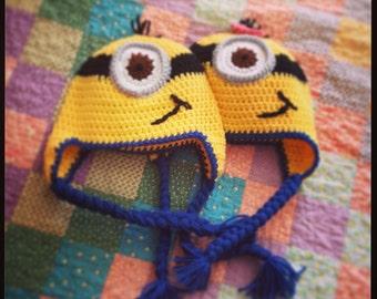 Crochet Minion Beanie