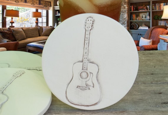 Drink coasters guitar coasters men 39 s gifts by shaynemccarter - Drink coasters absorbent ...