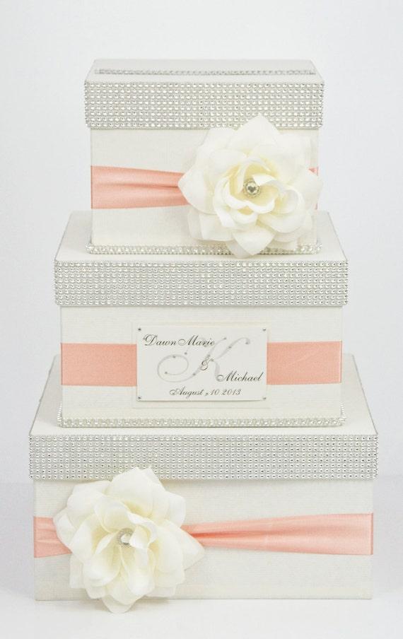 Card box wedding box wedding money box 3 tier for Wedding box cards india