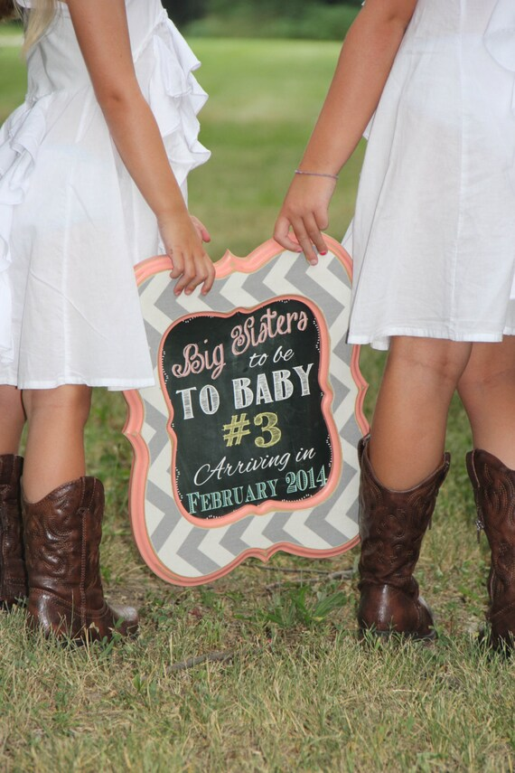 Shabby Chic Vintage Chalkboard Baby Birth Announcement Photo – Cowboy Birth Announcements