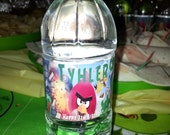 Angry Birds Inspired 32ct. Water Resistant Water Bottle Labels with Adhesive Backs