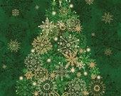 Stonehenge Starry Night, Evergreen Christmas Tree Panel (light kit not included) NC20101M-79