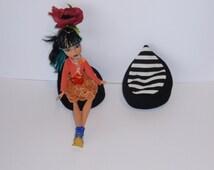Handmade Bean Bag Chair For  Dolls -  Dolls Furniture
