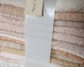 Dusty Peaches Lace bundle - 15 yds