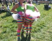 Rainbow Running shorts