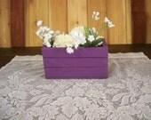 Wedding Center piece, Wood Crate Center Piece, Crate Shelves,Kitchen Centerpiece, Party Table Center Piece, Decorative Wood Boxes,