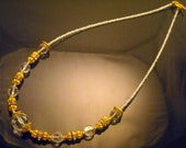 """Clear """"The Touch of Class"""" Collection Necklace Wedding Bridal"""