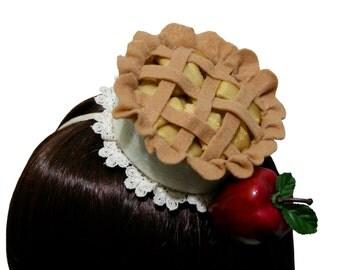Sweet Cinnamon Sugar Apple Pie Headband - Multiple Fastening Options