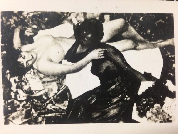 Items similar to vintage erotic picture salon de paris for Erotic salon
