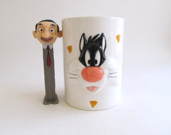 On Sale! New Year Discount Looney Tunes Sylvester the Cat Ceramic Cup