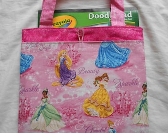 Princess Tote Bag Trick or Treat Bag Easter Bag