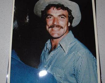 8x10 Press Photo tom selleck