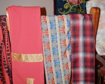 Handmade Scarves, Scarf Assorted Assortment Styles, Fabric Types Matching to Kaftan (6) out of 8