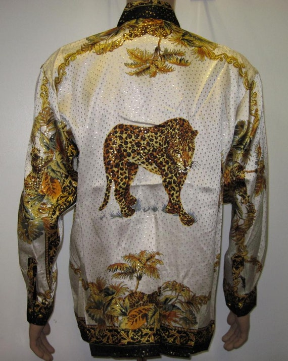 Amazoncom Versace shirts  Clothing  Men Clothing