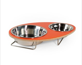 Eggy pet bowl for Small to Medium dogs cats
