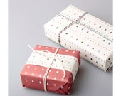 Soft Color Both Sides Wrapping paper 5 sheets (nd0085)