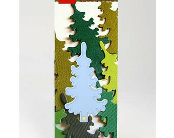 Christmas Tree Die - Paper Cutting - Marianne Design - Creatables - LR0136 - Pine Tree - Scrapbooking - Card Making - Cuttlebug - Big Shot