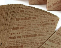 30pcs Wrapping paper, soap wrap, gift wrap paper, please choose 1 design