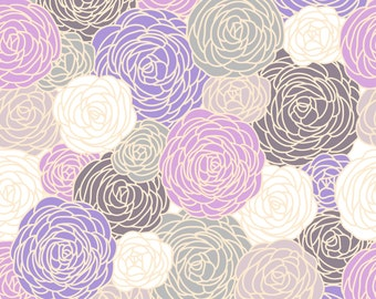 Limited Edition Blossom Fabric in Orchid Colorway - Pantone Color of the Year