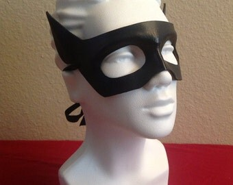 Handmade Leather Catwoman Mask