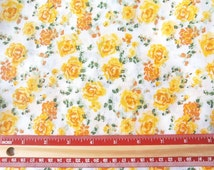 1 Yard Fabric vintage style 50s floral for Patchwork Quilting Pillow