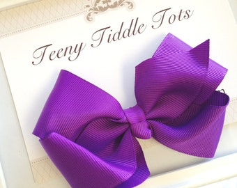 Purple Boutique Haribow - Boutique Hairbow