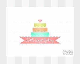 OOAK Premade Logo Design - Princess Cake