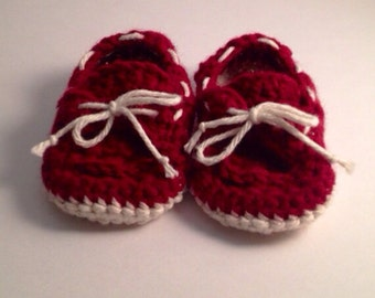 MADE TO ORDER baby boat shoes