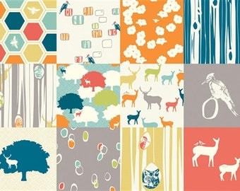 Birch Organic Fabrics Elk Grove One Yard of Elk Grove Patchwork