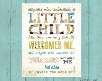 baby gift baby shower present ado ption gift scripture art bible verse