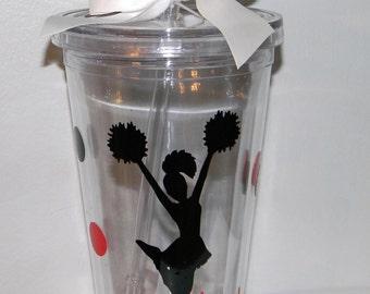Cheerleader Cup - Personalized Cheer Tumbler - Cheer Squad Gifts - Team Gifts -  Cheer Team Gift - Cheer Coach Gift - Cheerleader Bottle
