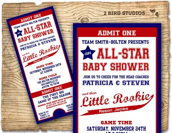 baseball baby shower invitation baseball baby shower boy, Baby shower