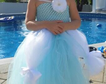 Cinderella big girl  Tutu Halloween Costume