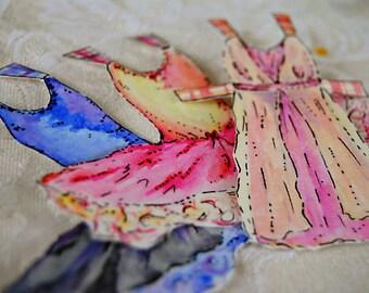 Printable Ballerina Paper Doll