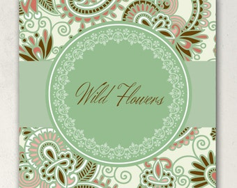 SHOP BANNERS Wild Flowers Etsy Shop Banner Set