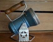 Vintage Flashlight by the Star Headlight and Lantern Company