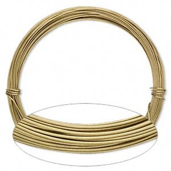 20 Gauge Aluminum Gold Wire Bendable Dead Soft Wire