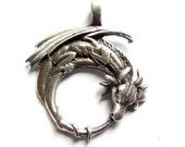 1 Silver Dragon Charm