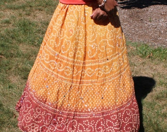 Soft, Indian Circle Skirt