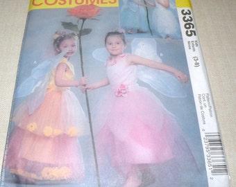 Uncut FLOWER FAIRY Costume McCalls 3365