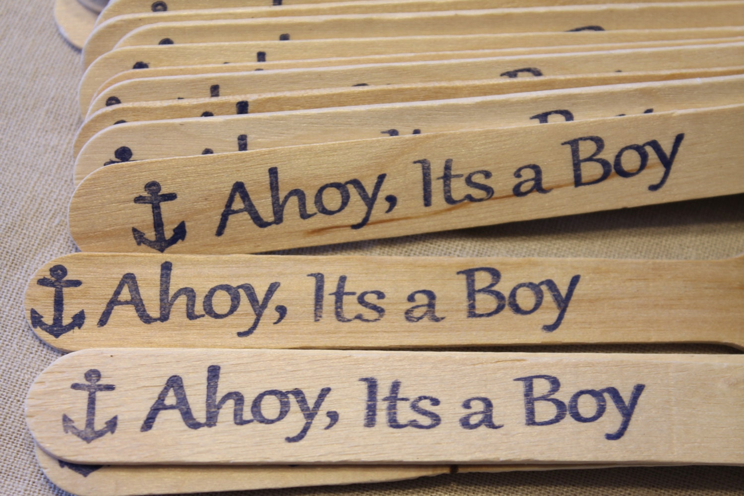 20 ahoy its a boy nautical baby shower wooden party