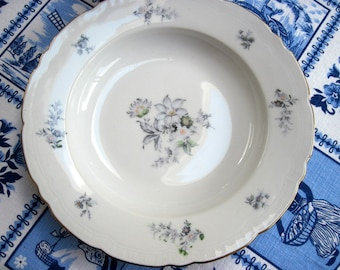 "Porcelain ""Wildflower"" Serving Dish"