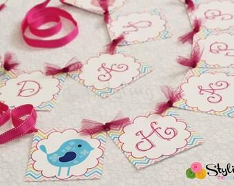 Little Birdie Banner