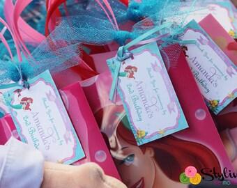 Little Mermaid Gift Tags