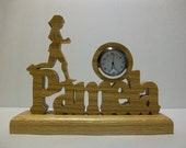 Personalized Runner Clock