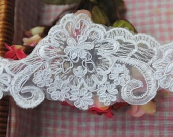 Floral lace,Veil lace,Garter lace,French style lace,Flower lace,White lace,Bridal Dress lace,Wedding lace,Embroidery lace,Sewing lace